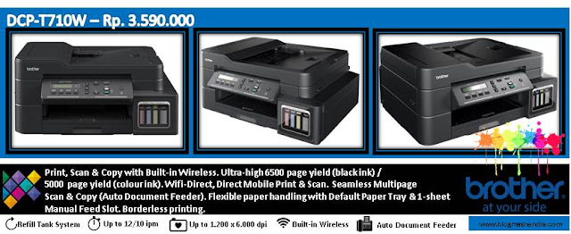 Printer Brother Tipe DCP-T710W - Blog Mas Hendra