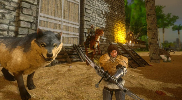 ARK Survival Evolved Mod Apk + Data Unlimited Amber Android Terbaru