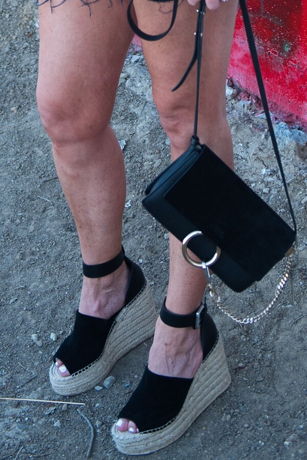 black suede platform espadrille sandals parlor girl