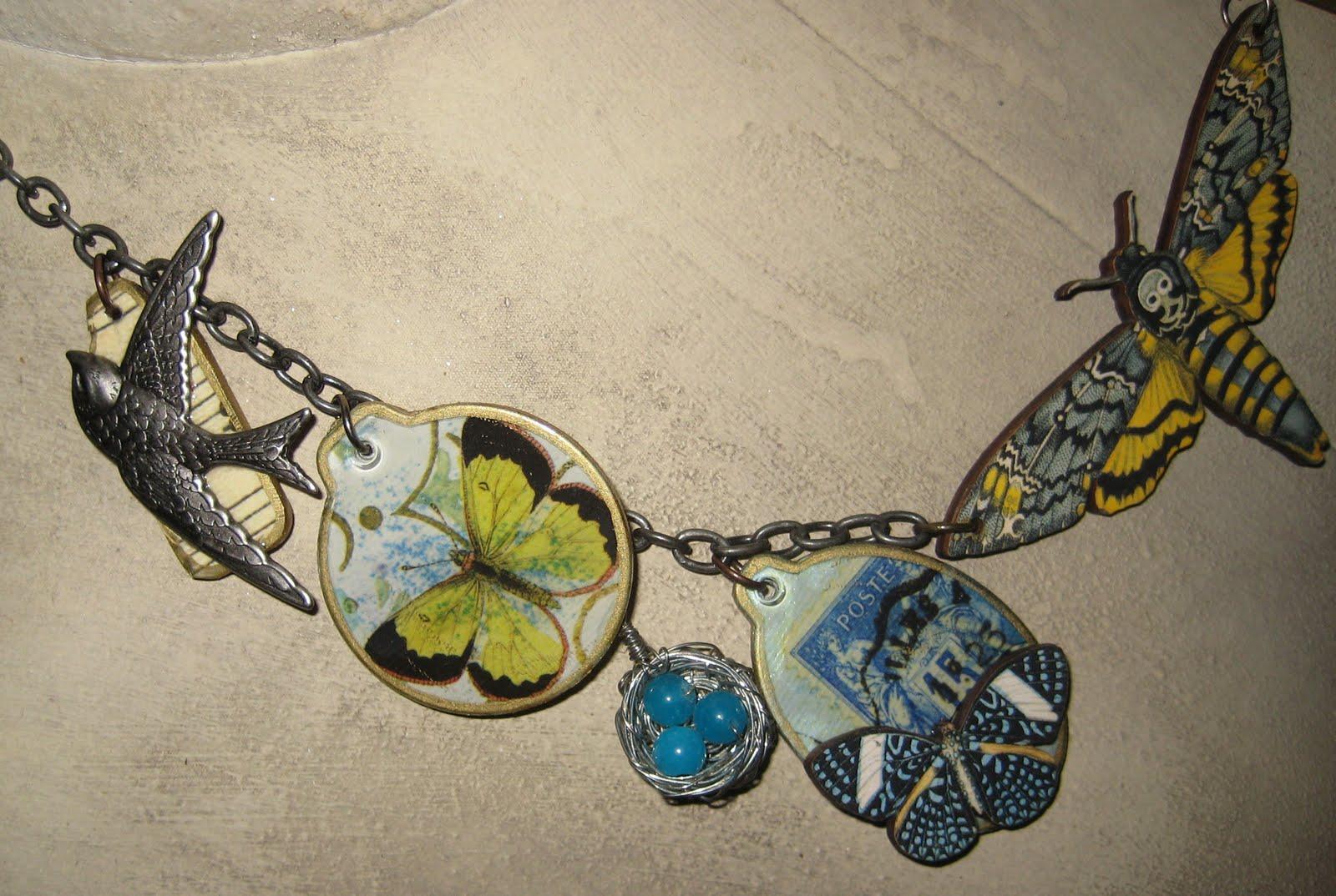 Got Art Blues Birds And Butterflies