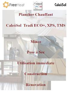 Plancher Chauffant Caleosol Tradi - Présentation générale