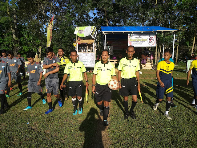 Hari Ini Final, Turnamen Sepak Bola Ahmading-ST Rabiah Cup Dipastikan Dipadati Penonton