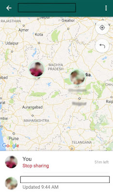 live-location-share-on-map