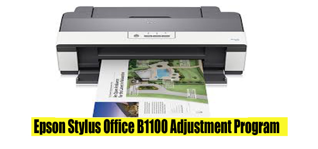 Epson Stylus Office B1100 Adjustment Program