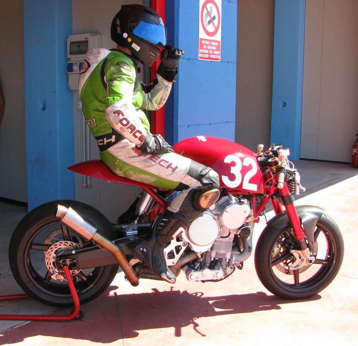 Nembo Motorcycle Track Testing