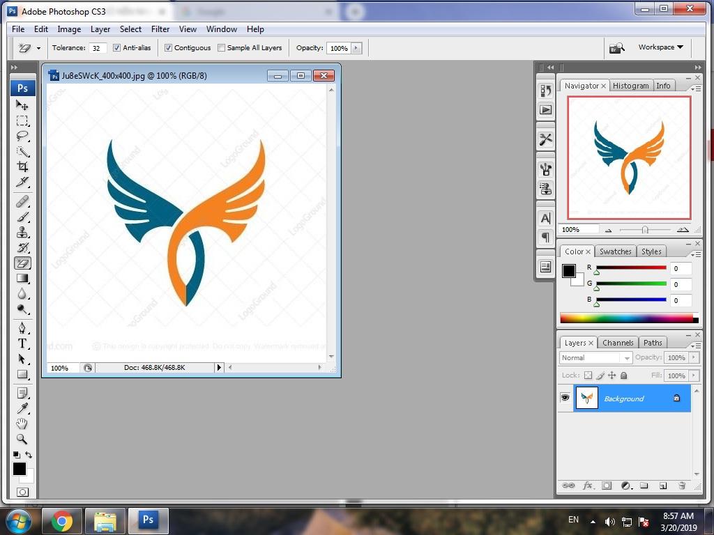 Xóa nền tạo ảnh PNG nhanh với Photoshop