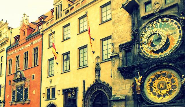 Funcionamiento del reloj de Praga