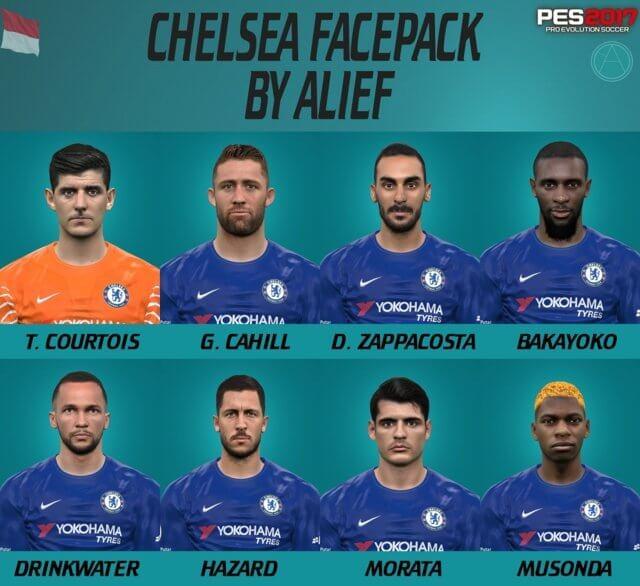 Chelsea Facepack PES 2017