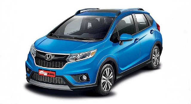 2017 Honda WRV Crossover Rendered