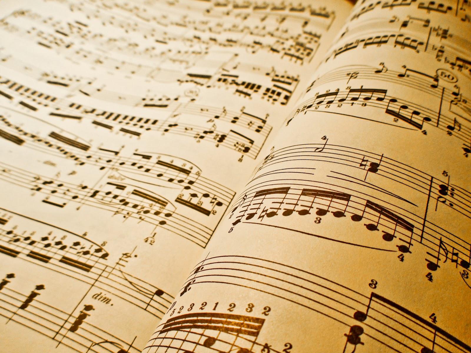 Top Sheet Music Wallpaper Wallpapers