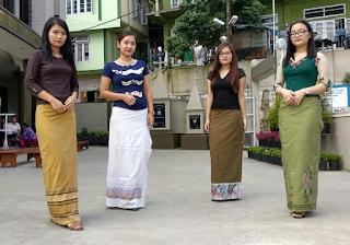 Traditional Sunday Dress Mizoram