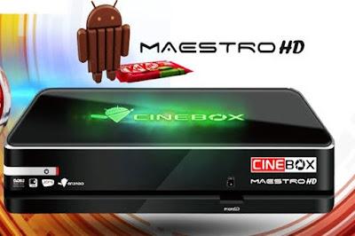 Resultado de imagem para ATUALIZAÇÃO CINEBOX MAESTRO HD ANDROID V4.12 – 12/11/2016