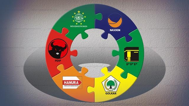 LSI Denny JA: Nasdem, PPP dan Hanura Tidak Lolos Parlemen