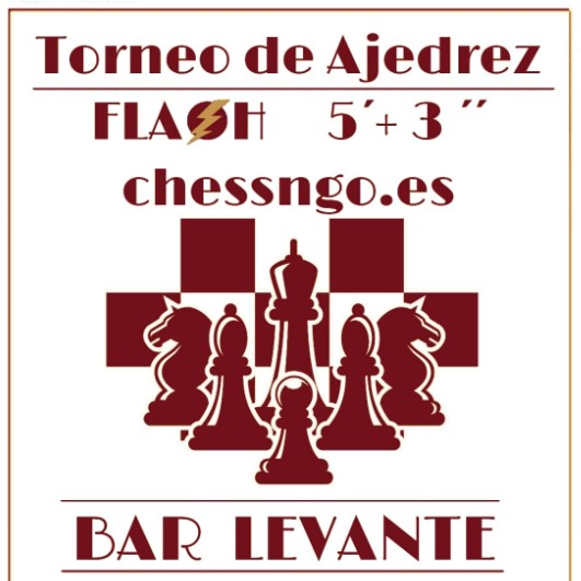 23 mayo, blitz Bar Levante (Valencia) -muy limitado 20 plazas-