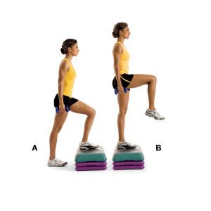 Resultado de imagen para ejercicio de  Step