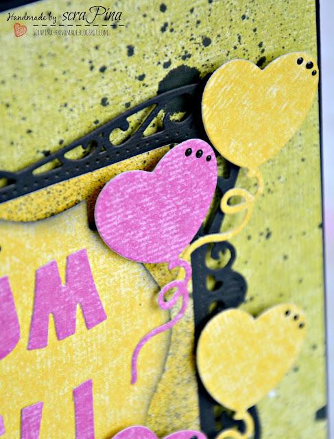 Energiczny kolorowy album ze zdjęciami prezent na 18 urodziny dla przyjaciółki ręcznie robiony scrapina handmade scrapbooking osiemnastka pamiątka dla dziewczyny papiery uhk gallery on my owl pastel