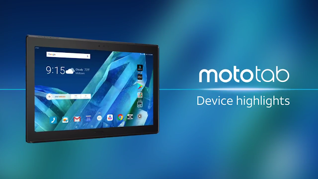 Lenovo Introduces the New Moto Tab, an Everyday Tablet Designed for Entertainment