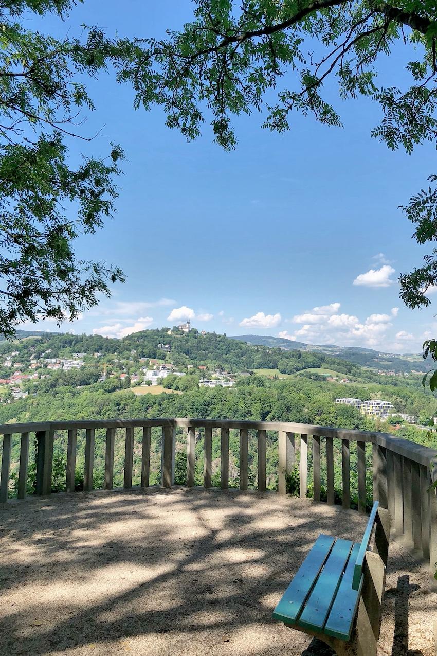 Aussichtsplattform Donautal