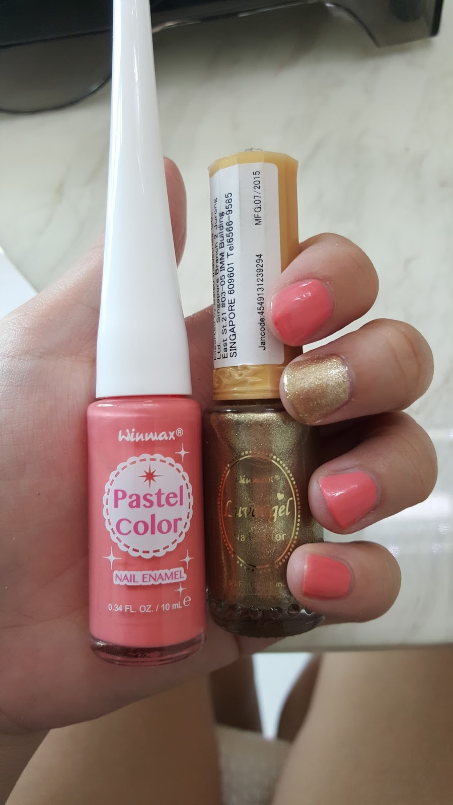 MyStoriesMyLife: Daiso nail polish review ( Winmax: pastel ...