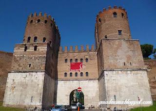 Turismo Roma Museu Criancas guia portugues - Os muros aurelianos