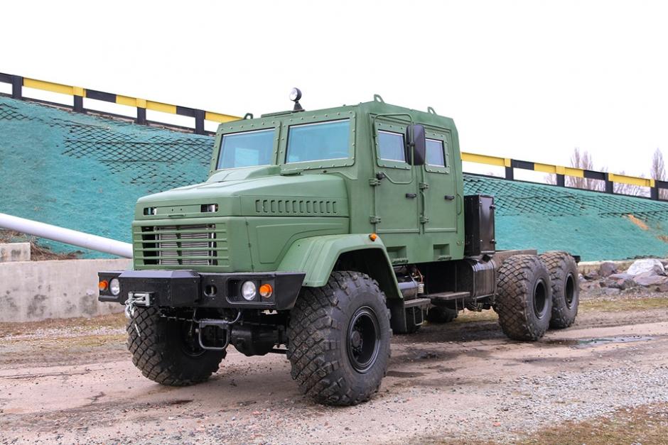 Повнопривідне шасі КрАЗ-63221 для САУ «Богдана»