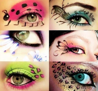Eye tatoo makeup