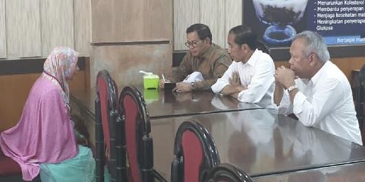 Usai Bertemu Jokowi Lagi, Ibu yang Terobos Paspampres Bilang 'Sudah Beres'