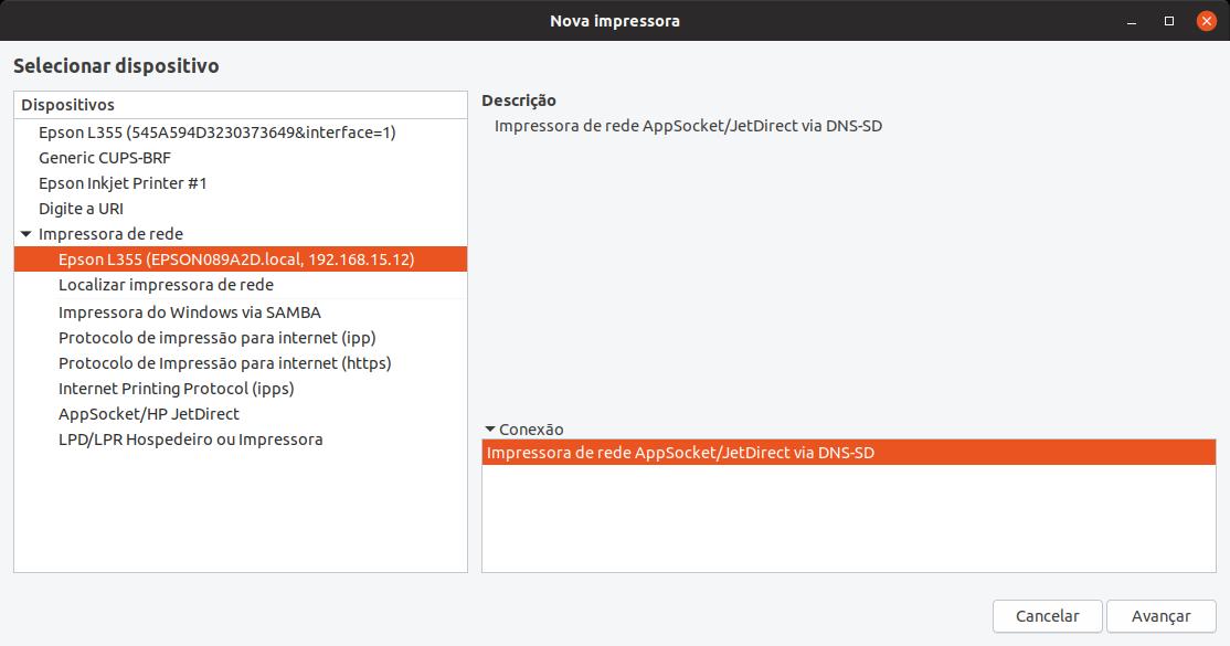 Linux dicas e suporte: Instalar multifuncional Epson no