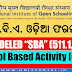 "NIOS: D.El.Ed (C.T) Odia (ଓଡ଼ିଆ) 511 ""SBA"" Odia Format (School Based Activity) Download [PDF]"