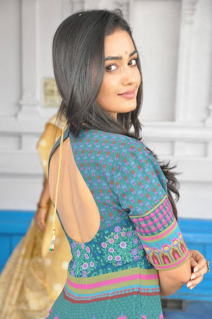 Tridha Choudhury Stills At Anandi Indira Production New Movie Launch