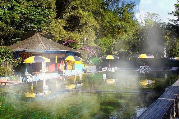 Hot spring Ciater