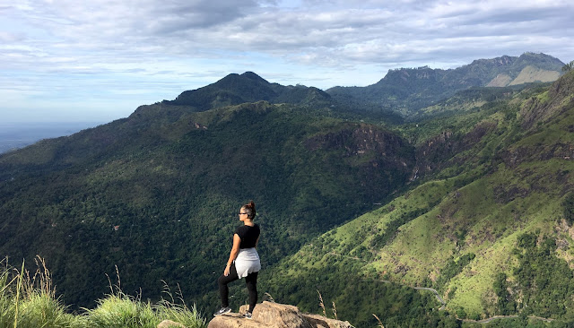 21ec1072850553 While in Ella I climbed Little Adam s Peak with Nawshad Tours Lanka. The  hike isn t extremely difficult and has an easy to follow path but I chose  to go ...
