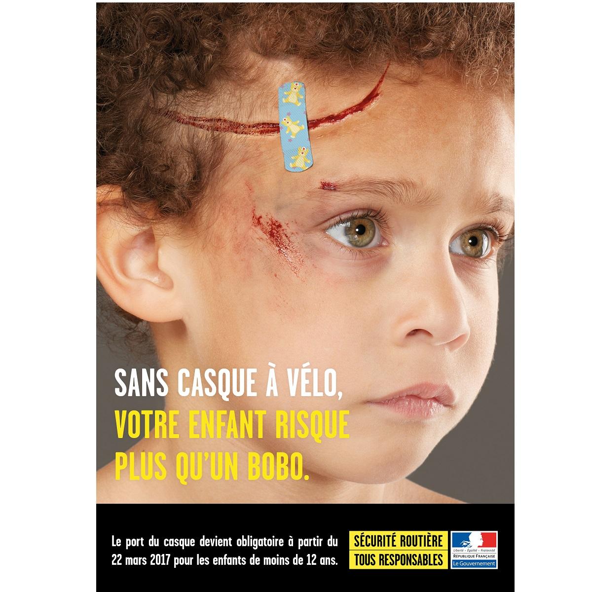 Le port du casque v lo pour les enfants de moins de 12 - Le port du casque a velo est il obligatoire ...