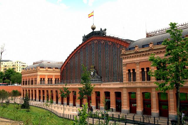 Região de Atocha em Madri