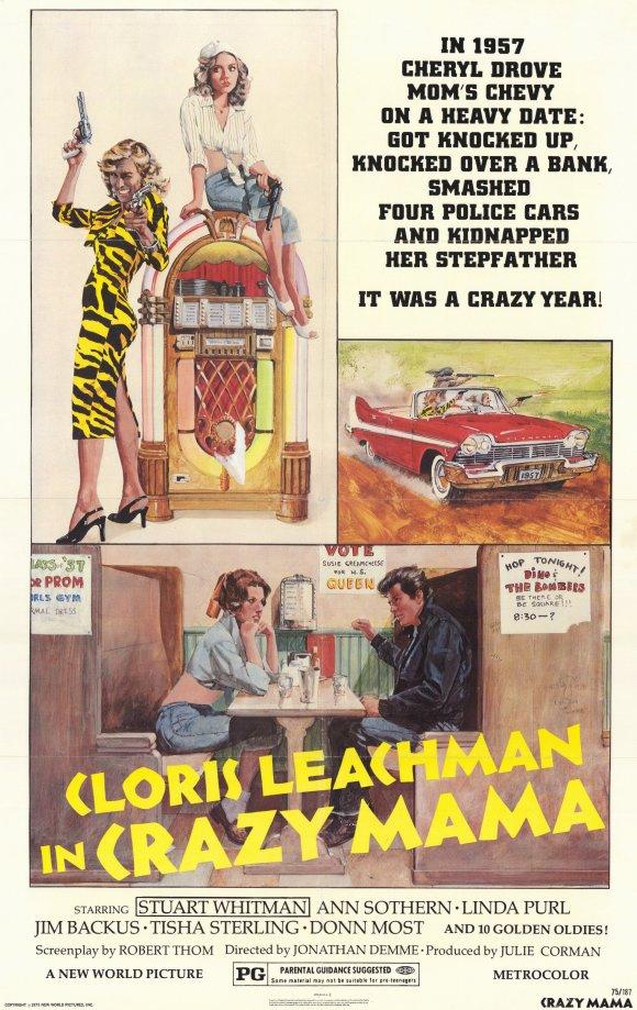 Crazy Mama movie