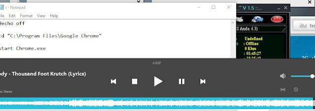 Cara Menjalankan Beberapa Aplikasi Sekaligus di Windows Degan Satu Klik