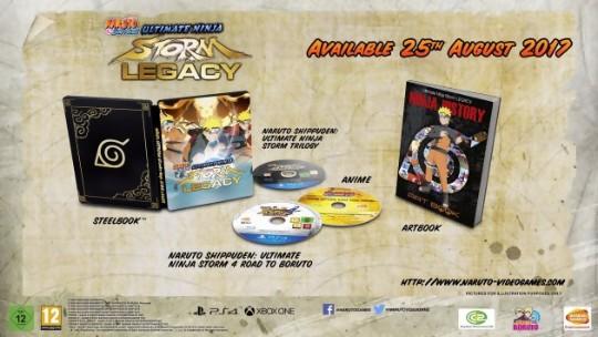Actu Jeux Vidéo, Bandai Namco Games, Naruto Shippuden : Ultimate Ninja Storm Legacy, Naruto Shippuden : Ultimate Ninja Storm Trilogy, Playstation 4, Steam, Xbox One, Jeux Vidéo,