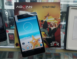 """Cara Hard Reset Advan Star Tab T1K Plus"""