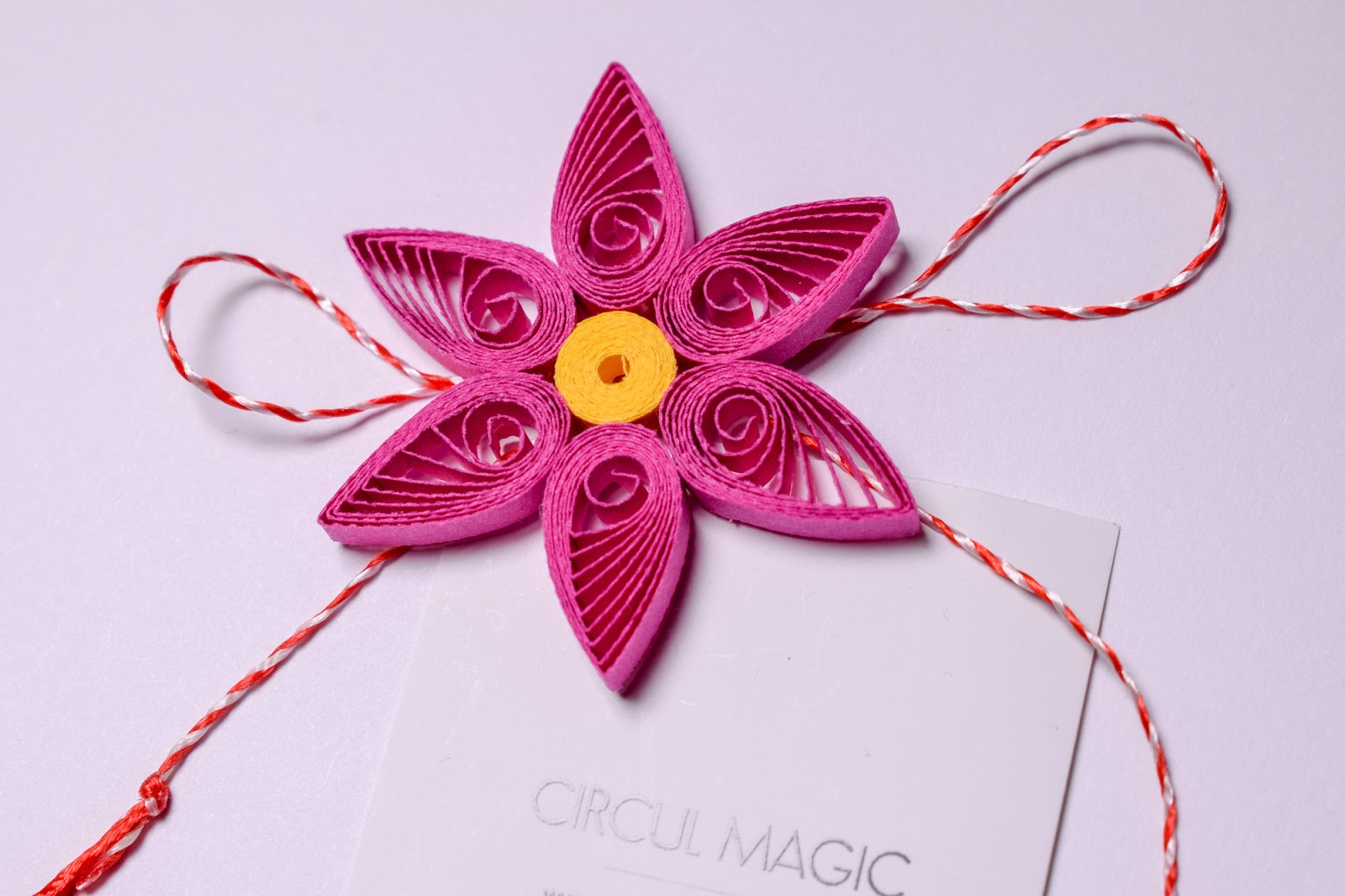 Martisoare Handmade 2018 Quilling - Circul Magic