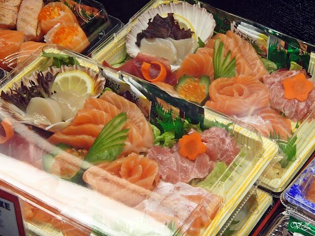 sushi box sydney fish market