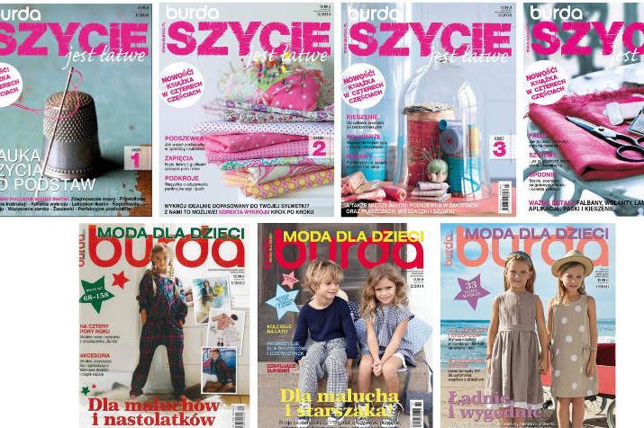 Burda Moda dla dzieci 1/2013 1/2014 1/2016 znowu do kupienia
