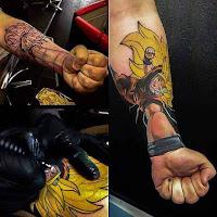 Tatuajes de Dragon Ball