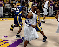NBA 2K13 Lakers Christmas Jersey Patch Download