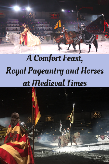 A Comfort Feast, Royal Pageantry and Horses at Medieval Times in Schaumburg, Illinois