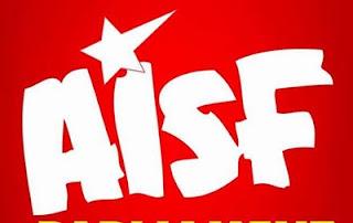 aisf-protest-patna-university