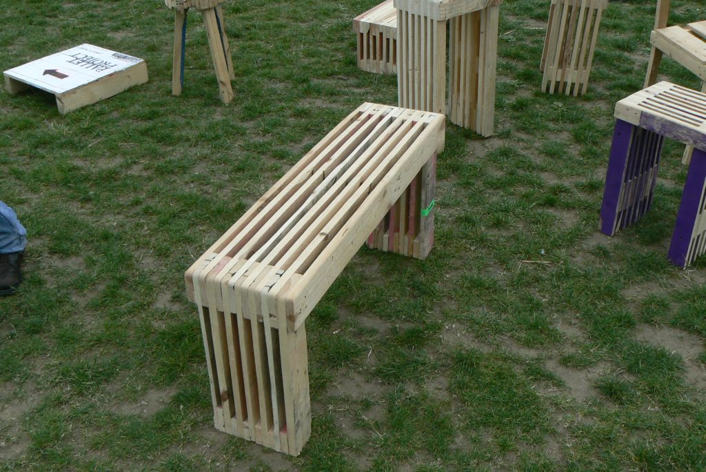 flere gør det selv palle havemøbler – i min eksotiske have