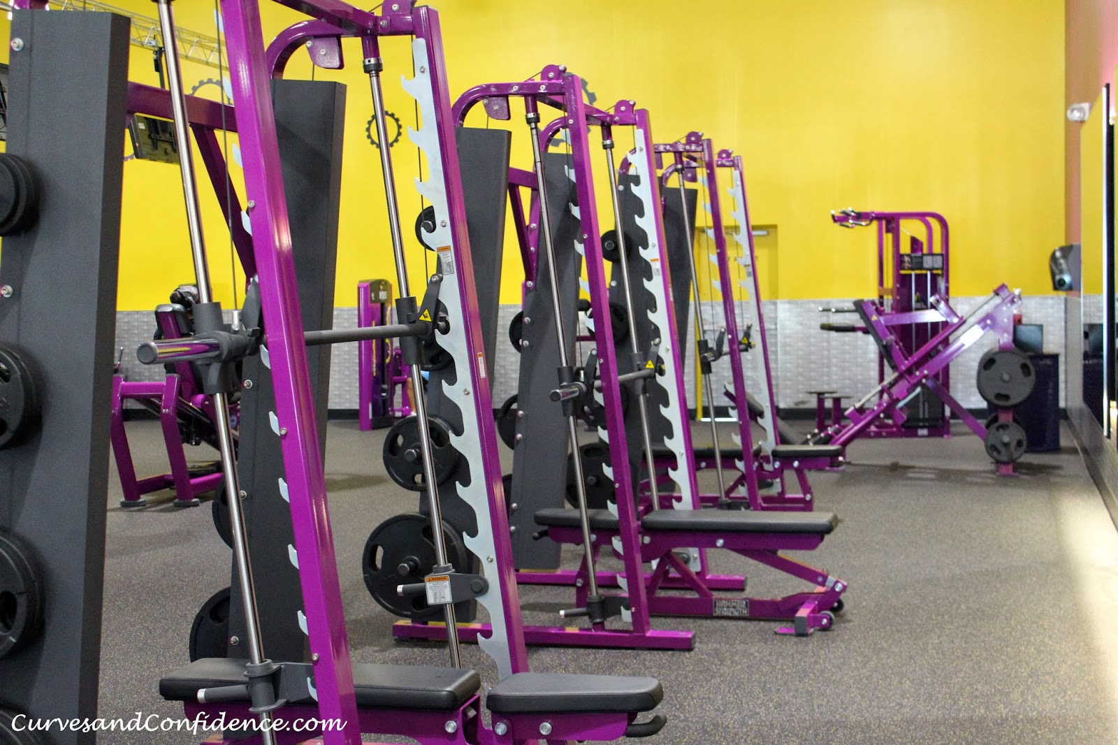 Planet Fitness power racks unsafe for squatting? : Fitness