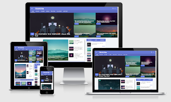 Thanos Vusion Material Responsive Blogger Template