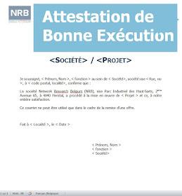 Modele D Attestation De Bonne Execution Des Travaux Cours Genie Civil Outils Livres Exercices Et Videos