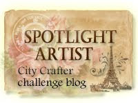 I was a Spotlight Artist at City Crafter14th March